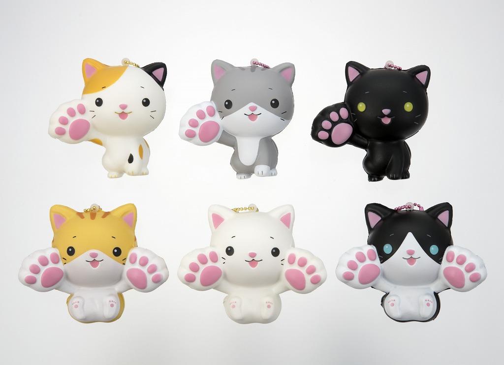Soft Cat Mascot - Squishy Japan