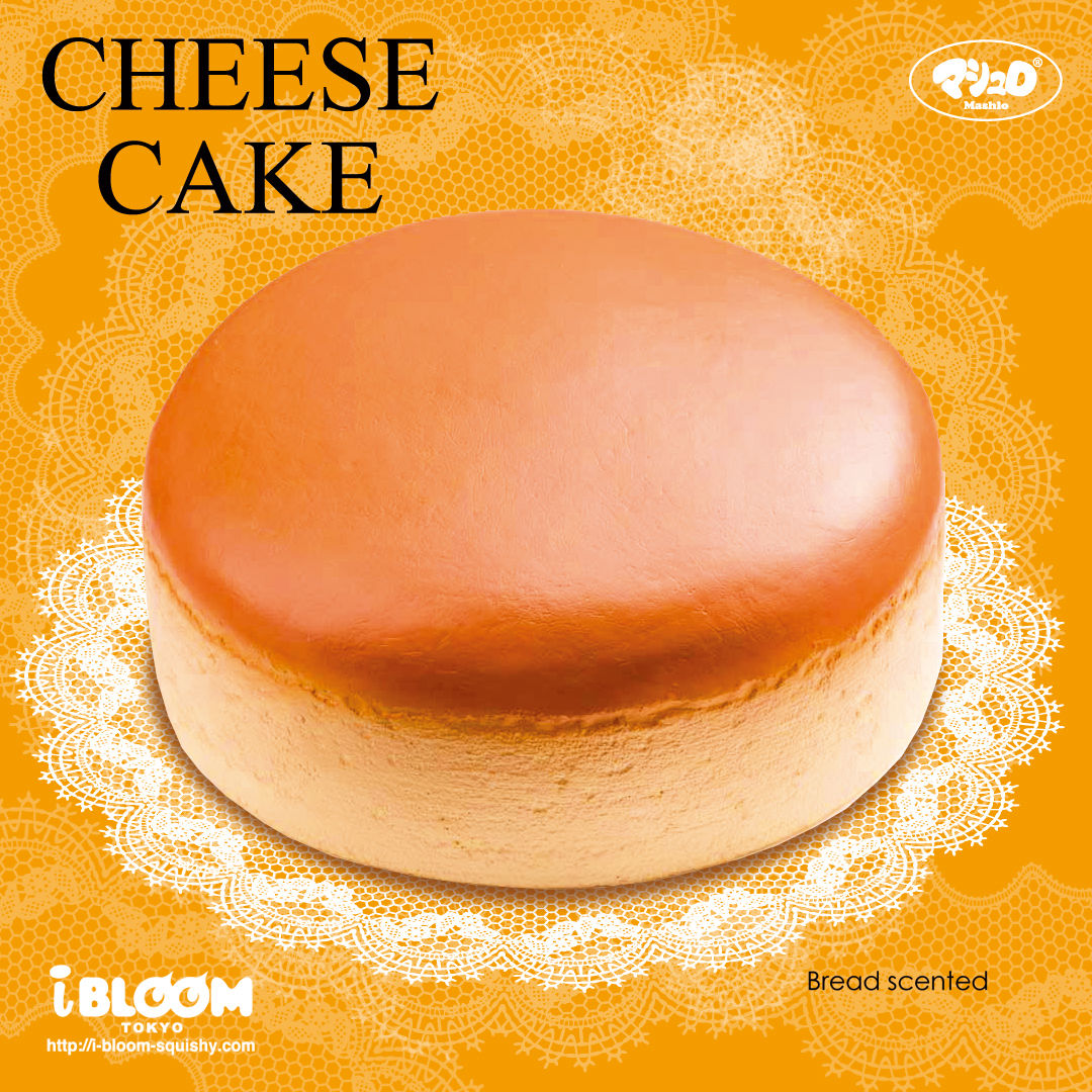 Ibloom Cake Roll Squishy : IBloom - CHEESE CAKE - Squishy Japan