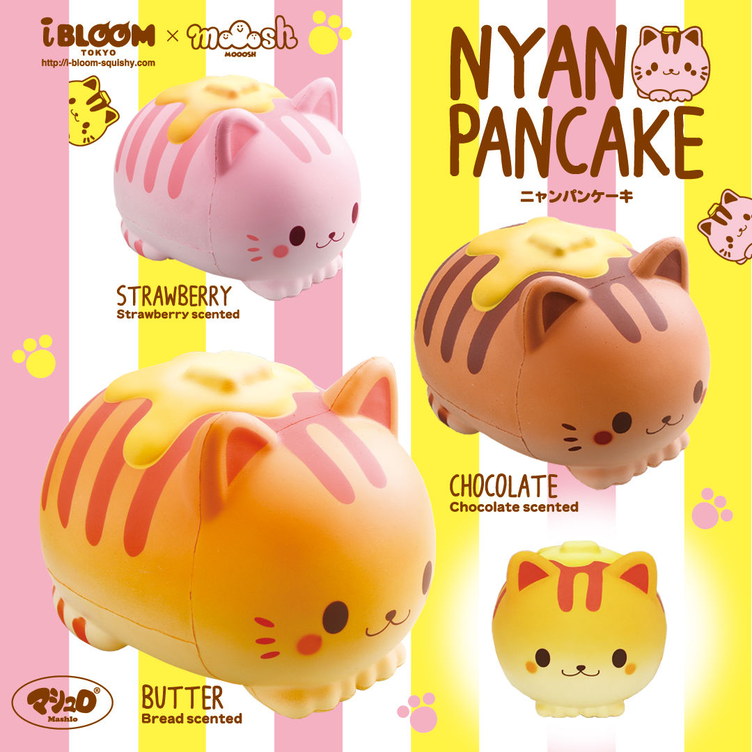 Homemade Squishy Collection It Z Just Cute : IBloom - Nyan Pancake - Squishy Japan